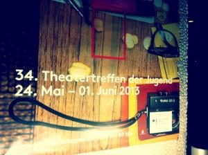 Foto vom Plakat Theatertreffen der Jugend 2013