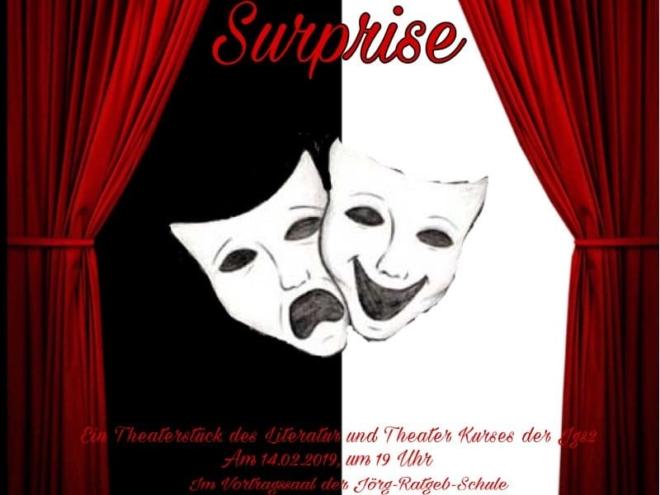 Plakat des Theaterstücks